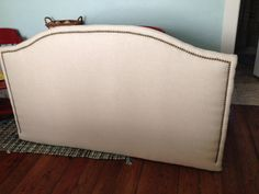 Natural Colored Nailhead Trim Headboard by BedheadDesigns on Etsy, $249.00
