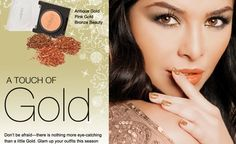 touch of gold! with motives cosmetics