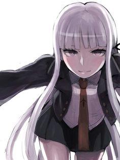 Anime girl, Dangan Ronpa, Kirigiri Kyouko