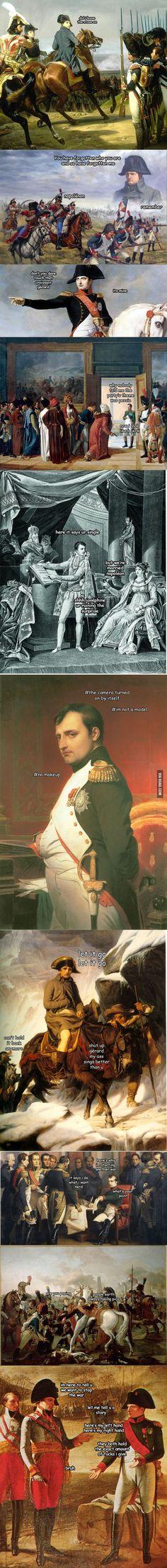 The Adventures of Napoléon Bonaparte Omygosh save me, just as good as the Washington ones