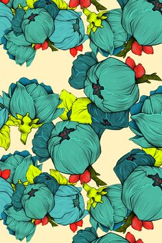 Bulb Patterns on Behance by Emily Julstrom