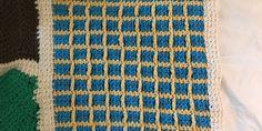 An Afghan Stitch Sampler – Block 49 (Framed Squares)   Quilts To Crochet