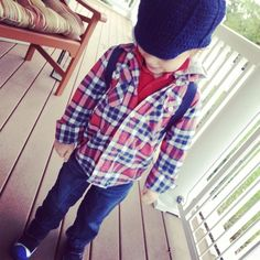 Toddler Style, Toddler Fashion, Morgan and Milo, Plaid, Handmade Toddler Hats