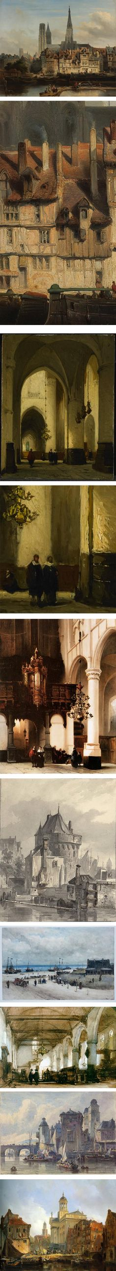 Nineteenth century painter Johannes Bosboom