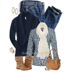 Fat Face Gingham, created by shannonmarie-94 on Polyvore