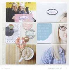 Project Life® 2014 | Week Eight (Studio Calico Project Life® Kit) #projectlife #scrapbook