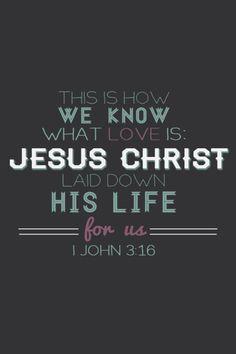 I John 3,16 - Pesquisa Google