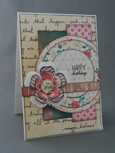 Because it's fun to create...: Happy world card making day!