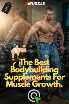 The Best Bodybuilding Supplements For Muscle Growth by Muzcle 💪🏼 👍🏼 #BodybuildingSupplements Muscle Building Tips, Build Muscle Mass, Gain Muscle, Supplements For Muscle Growth, Best Supplements, Best Bodybuilding Supplements, Ripped Muscle, Athlete Nutrition, Fitness Facts