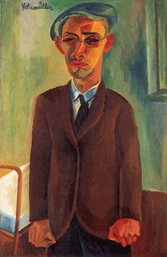 Conrad Felixmüller (1897-1977) was een Duitse expressionistische kunstschilder. Hij werd in 1917 opgenomen in de Expressionistische Arbeitsgemeinschaft van Dresden. Onder het naziregime werd zijn werk als Entartete Kunst veroordeeld. 151 van zijn stukken werden uit musea weggehaald en in beslag genomen. In 1937 ging hij in Berlijn en werken. Hij verloor echter zijn atelier in een bombardement.