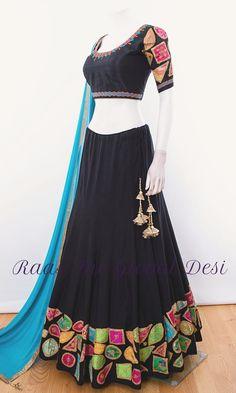 Indian Gowns Dresses, Indian Fashion Dresses, Indian Designer Outfits, Indian Outfits, Indian Clothes, Half Saree Designs, Choli Designs, Lehenga Designs, Blouse Designs