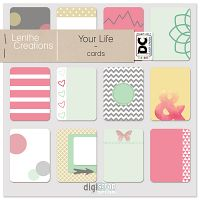 Your life cards by Lenthe creations. Part of the Dutch Choice March 2017