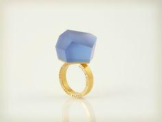 VU - phtallo blue, gold ring -=PYO=