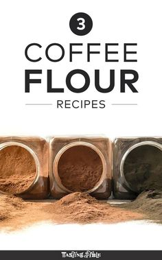 The next big thing in reducing food waste: coffee flour, made from drying and grinding the fruit surrounding coffee beans. Coffe Recipes, Flour Recipes, Cooking Recipes, Fresh Coffee, I Love Coffee, Coffee Flour, Tagine Recipes, Survival Food, Food Waste