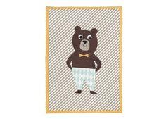 liefelijk beren dekentje Ferm Living   kinderen-shop Kleine Zebra