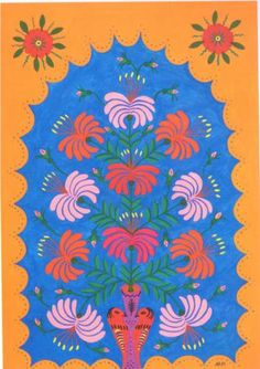 My Flowers To Those Who Love Peace - Maria Primachenko