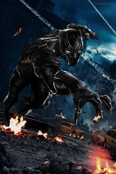 Black Panther - Civil War by on DeviantArt Black Panther Marvel, Black Panther King, Marvel Art, Marvel Heroes, Marvel Avengers, Herobrine Wallpaper, Black Panther Hd Wallpaper, Marvel Phone Wallpaper, Wallpaper Bonitos
