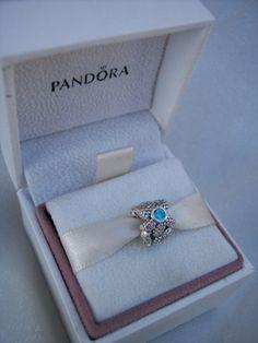 Authentic Pandora Sea Star CZ Bracelet Charm Box by JEWELSELAGANT, $40.00