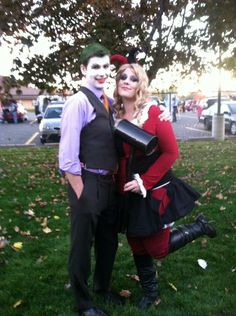 I loved our version of Harley Quinn and Joker!
