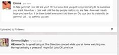 messin' with the wrong person emma. you go gurrl @Gemma Styles   :) <3 xx