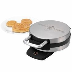 Mickey mouse waffle iron. My mom has one of these and we always ate the ears off first