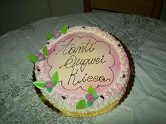 my birthday's cake!!! <3