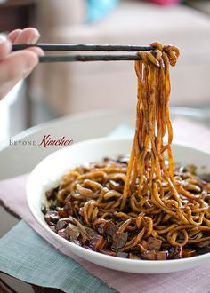 How to make Jjajangmyun, black bean noodles