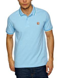 Bench Herren Polo Shirt   - Blau - BL133 Blue - Medium (Herstellergröße: Medium)