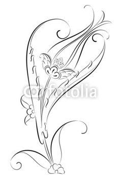 Çini Motifi Lale Deseni İllüstrasyonu - Buy this stock vector and explore similar vectors at Adobe Stock Embroidery Designs, Hand Embroidery Patterns, Quilting Designs, Turkish Tiles, Turkish Art, Batik Pattern, Pattern Art, Delicate Tatoos, Font Art