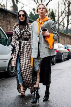 fashion week Fall Street Style outfit