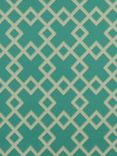 Dwell Studio Modern Bungalow Cross-Turquoise 228295 Indoor/Outdoor Upholstery - Modern Bungalow Cross-Turquoise 228295 is one of 55 Dwell Studio's newest collections made with beautiful, 100% Sunbrella acrylic outdoor furniture fabric. From the design house of Robert Allen, Dwell Studio's Modern Bungalow collection creates a fresh, inviting palette with flourishes of green, aqua and white as a base for many lush design palettes. Remainstrue to its New York design roots, with bold geometrics…