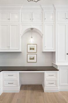 Portfolio - Christopher Scott Cabinetry & Design Kitchen With Long Island, Timeless Kitchen, Kitchen Design, Kitchen Ideas, Cabinet Design, Kitchen Cabinets, New Homes, House, Desks