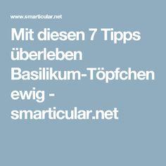 Mit diesen 7 Tipps überleben Basilikum-Töpfchen ewig - smarticular.net