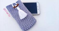 Funda para el móvil, ¡a crochet!