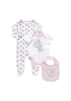 Clothing at Tesco | Me To You Tatty Teddy 3 Piece Gift Set > bodysuits > Newborn > Baby