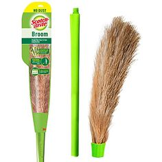 Scotch-Brite No-Dust Broom, Long handle, Easy floor cleaning (Multi-use) Scotch-Brite Funny Wedding Gifts, Wedding Humor, Funny Gifts, Easy Hairstyles, Natural Cleaning Products, Scotch, Grass, Home Improvement, Colours