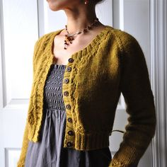 Miette, free cardigan pattern by Andi Satterlund  This pattern can be adapted so many ways