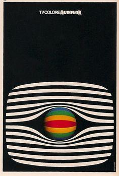 Sans titre — design-is-fine: Ettore Vitale, poster for...