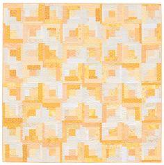 Martingale - Block-Buster Quilts - I Love Log Cabins (Print version + eBook bund Cute Quilts, Boy Quilts, Girls Quilts, Log Cabin Quilts, Log Cabins, Log Cabin Designs, Bargello Quilts, Yellow Quilts, Quilting Thread