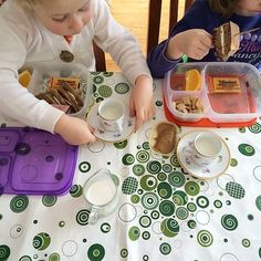 @EasyLunchboxes lunch tea party.