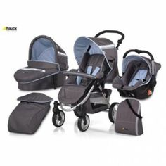 Hauck Apollo 4 All In One Travel System (Sky)