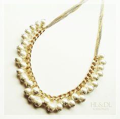 Colar#prata#dourado#pérolas #necklaces