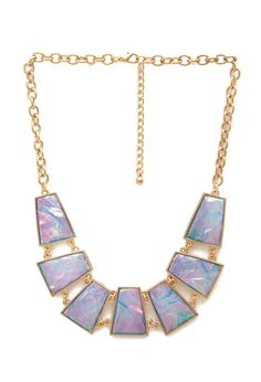 How Holographic Necklace | FOREVER21 #FauxStone #Necklace #Accessories