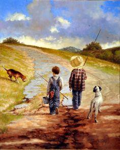 Jim Daly - going fishing