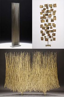 copyrighted material. pls. credit and link via the modern sybarite. find @ http://www.themodernsybarite.com/2012/05/enchanting-work-of-harry-bertoia.html