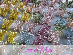 FARFALLE DI CERAMICA, by COSE DI MYA, 40,00 € su misshobby.com