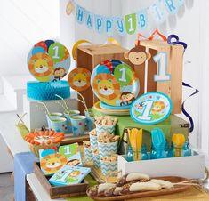 Feier den 1. Geburtstag kleiner Entdecker mit einer Safari-Party Safari Party, Leo, Birthday, Google, Lion Cakes, My Son, Childhood, Celebration, Birthdays