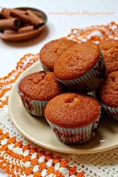 Eve and Apple: Fűszeres sütőtökös muffin Winter Food, Muffin, Pumpkin, Eve, Apple, Breakfast, Recipes, Foods, Halloween