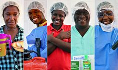 """#Ebola workers in Sierra Leone: """"I am here to help the sick, to cook and give them strength"""""""