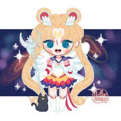 Sailor Moon Usagi, Sailor Moon Art, Sailor Moon Crystal, Sailor Mercury, Sailor Scouts, Cool Artwork, Chibi, Princess Zelda, Fan Art